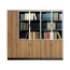 Classic Wooden Office Bookshelves Cabinet