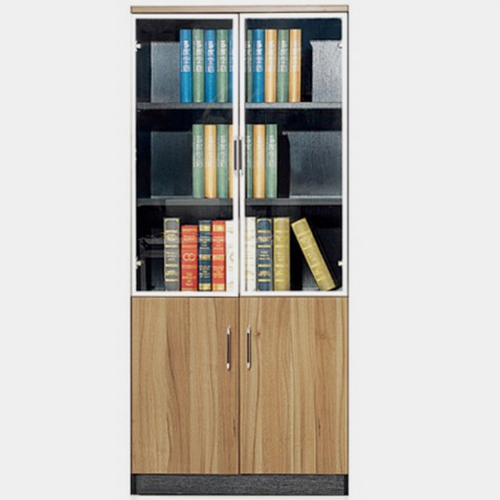 Classic Wooden Office Bookshelves Cabinet Image 3