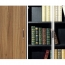 Classic Wooden Office Bookshelves Cabinet Image 6