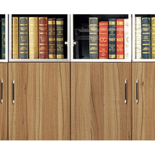 Classic Wooden Office Bookshelves Cabinet Image 8