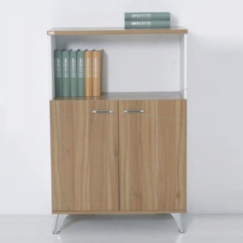 Short Solid Wood File Cabinet Image 2