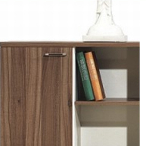 Short Solid Wood File Cabinet Image 4