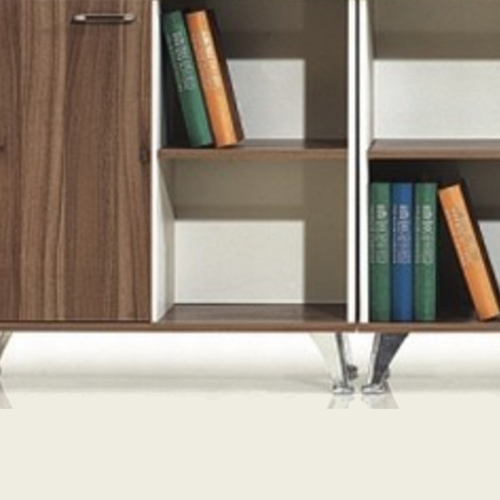 Short Solid Wood File Cabinet Image 5