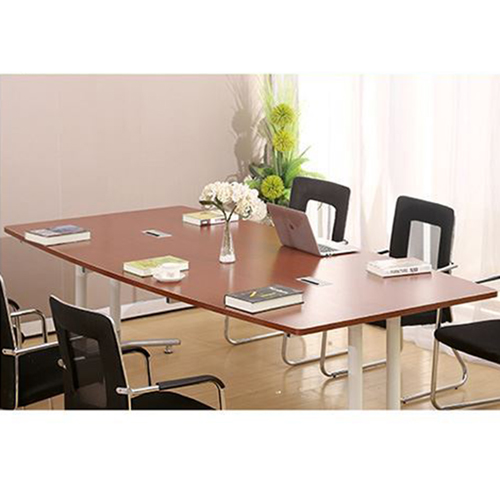 Oval Conference Table with Wire Box Image 9