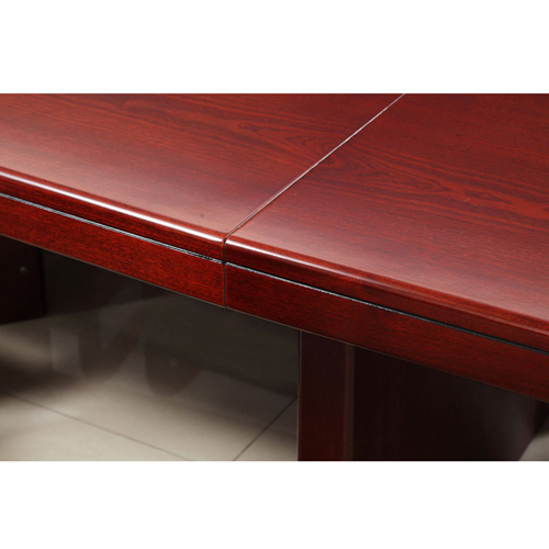 Wooden Conference Table With Leather Lining Image 9