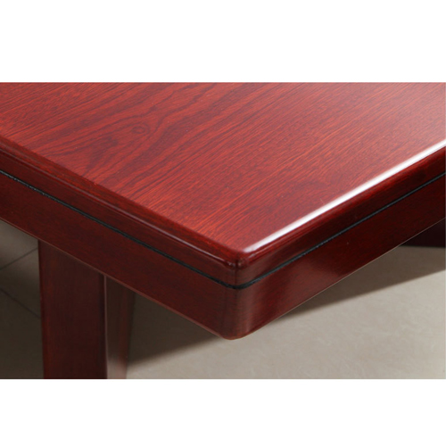 Wooden Conference Table With Leather Lining Image 8
