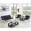 Loopy Office Leather Sofa Set Image 5