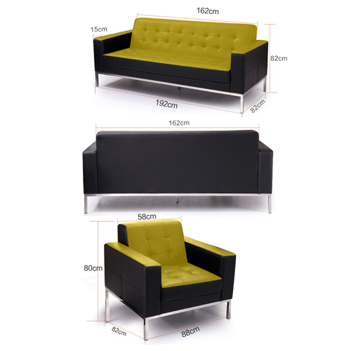 Minimalist Design Office Sofa Image 22