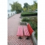 Malta Outdoor Metal Wood Garden Bench Image 10