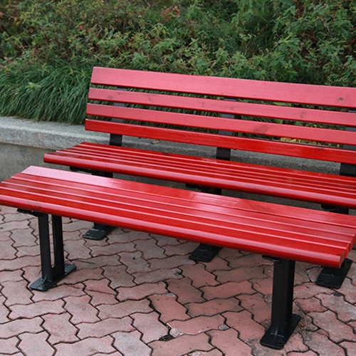 Malta Outdoor Metal Wood Garden Bench Image 15