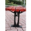 Malta Outdoor Metal Wood Garden Bench Image 16