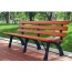 Eco Long Composite Wood Bench