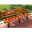 Eco Long Composite Wood Bench Image 2