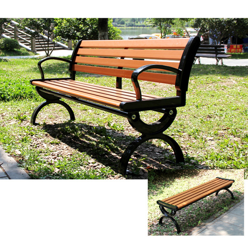 Leisure Garden Bench With Long Stool Image 9