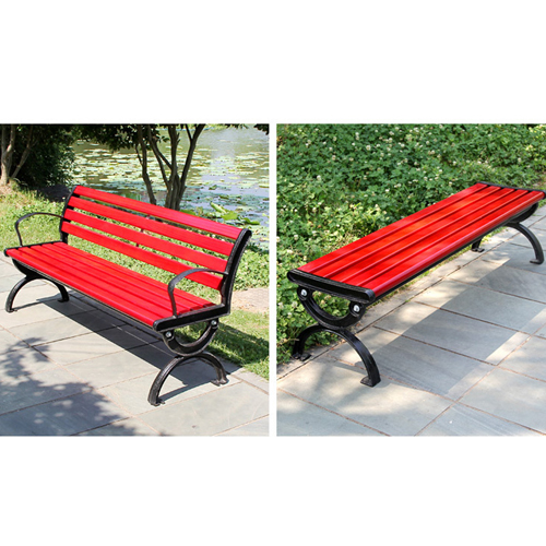 Leisure Garden Bench With Long Stool Image 10