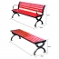 Leisure Garden Bench With Long Stool Image 12