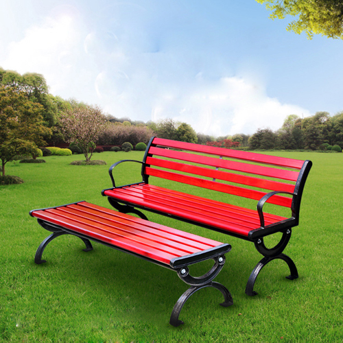 Leisure Garden Bench With Long Stool
