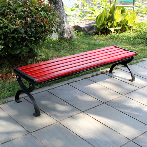 Leisure Garden Bench With Long Stool Image 1