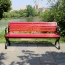 Leisure Garden Bench With Long Stool Image 2