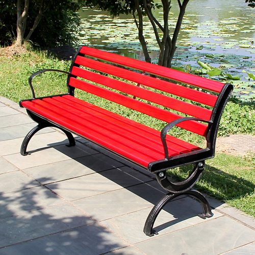 Leisure Garden Bench With Long Stool Image 3