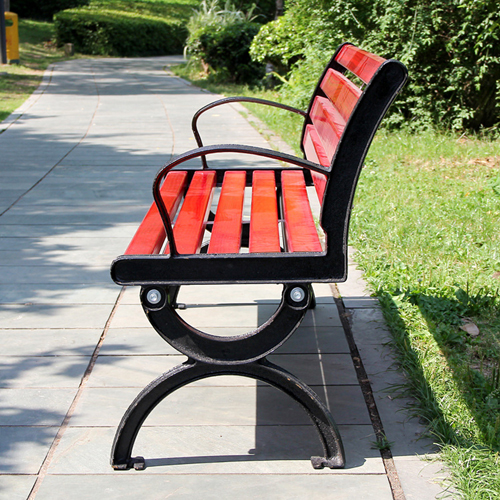 Leisure Garden Bench With Long Stool Image 4