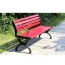 Leisure Garden Bench With Long Stool Image 5