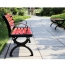 Leisure Garden Bench With Long Stool Image 6
