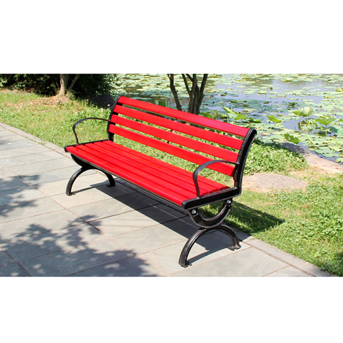 Leisure Garden Bench With Long Stool Image 7