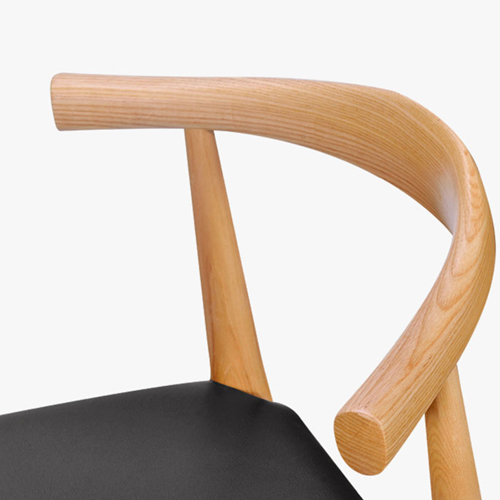 Bubboil Leather Elbow Chair