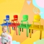 Kindergarten Square Table And Chairs Set Image 5