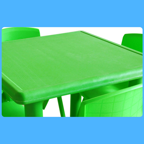 Kindergarten Square Table And Chairs Set Image 8