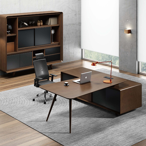 Creative Walnut Manager Desk