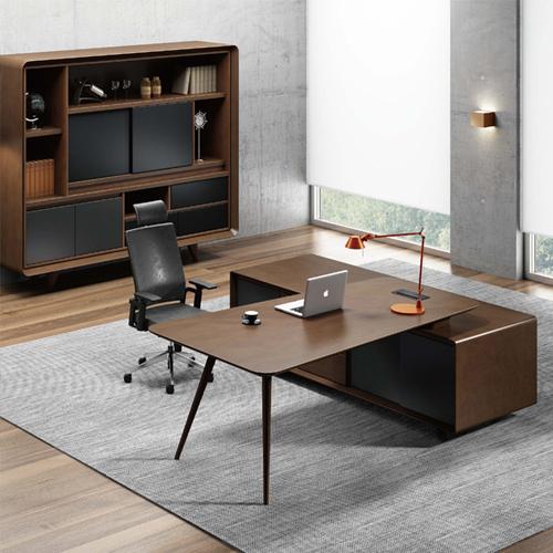 Creative Walnut Manager Desk
