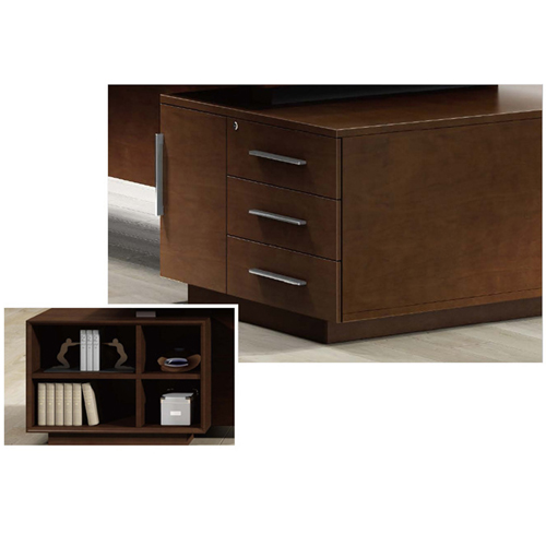 Executive Multi-Plate Minimalist Desk Image 12
