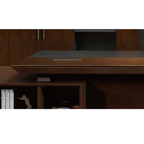 Executive Multi-Plate Minimalist Desk Image 13