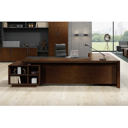 Executive Multi-Plate Minimalist Desk Image 9