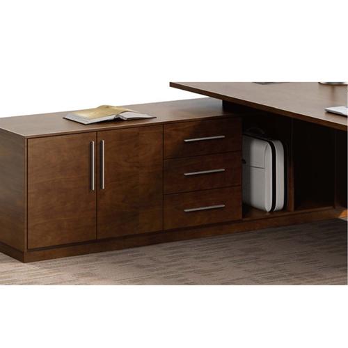 Modern Large Office Desk Set Image 12