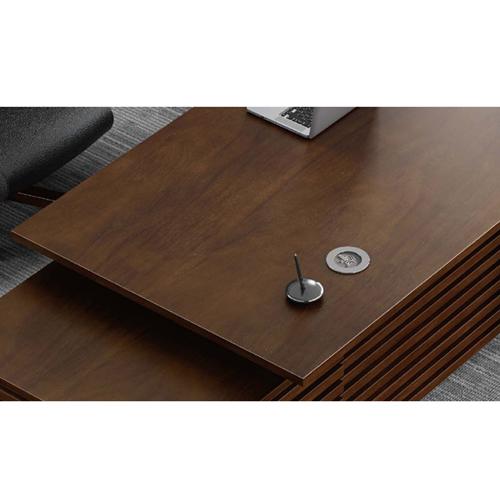 Modern Large Office Desk Set Image 13