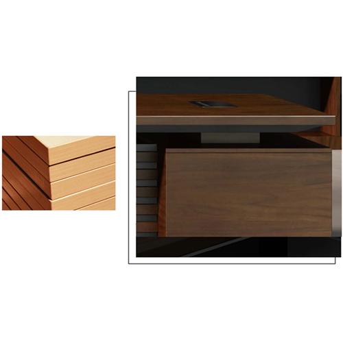 Modern Large Office Desk Set Image 15