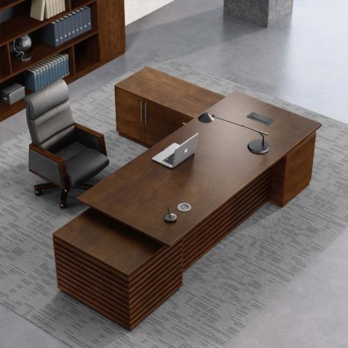 Modern Large Office Desk Set