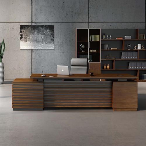 Modern Large Office Desk Set Image 1