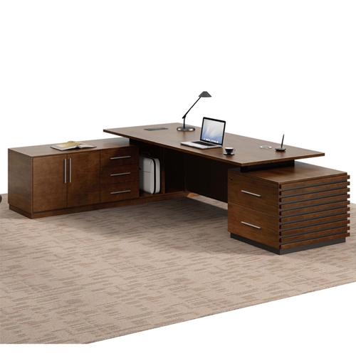 Modern Large Office Desk Set Image 2
