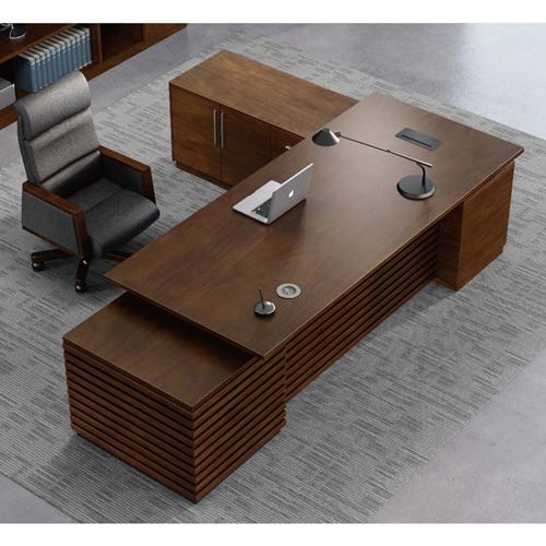 Modern Large Office Desk Set Image 8