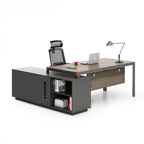 Bytrex Office Table With Side Cabinet