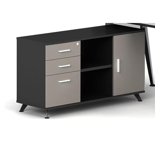 Executive Metal Frame Office Desk Image 9