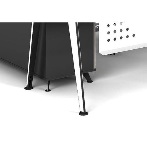 Executive Metal Frame Office Desk Image 10