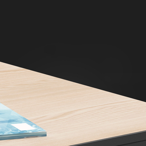 Executive Metal Frame Office Desk Image 12