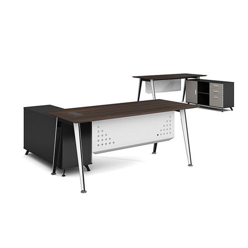 Executive Metal Frame Office Desk Image 4