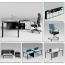 Executive Metal Frame Office Desk Image 5