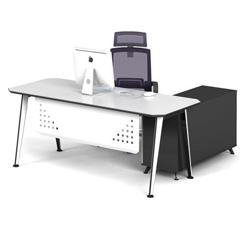 Executive Metal Frame Office Desk Image 6